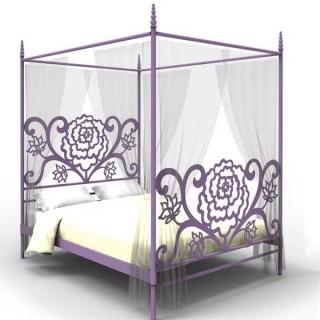 Кованая кровать Вальдистал