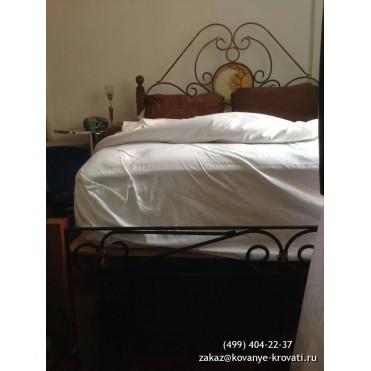 Кованая кровать Альбoку