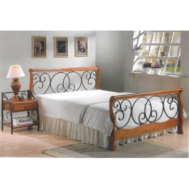 Кованая кровать Дорэльмо