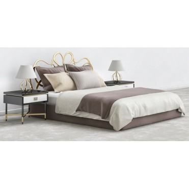 Кованая кровать Джеанд