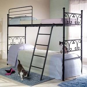 Кованые двухъярусные кровати