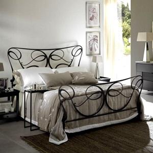 Полутороспальные кованые кровати