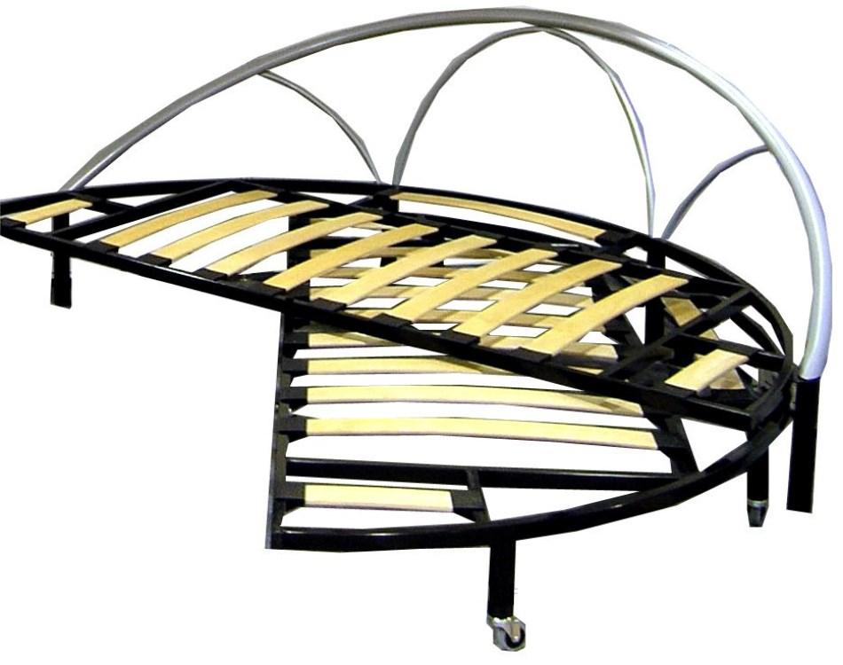 Кованая кровать-трансформер