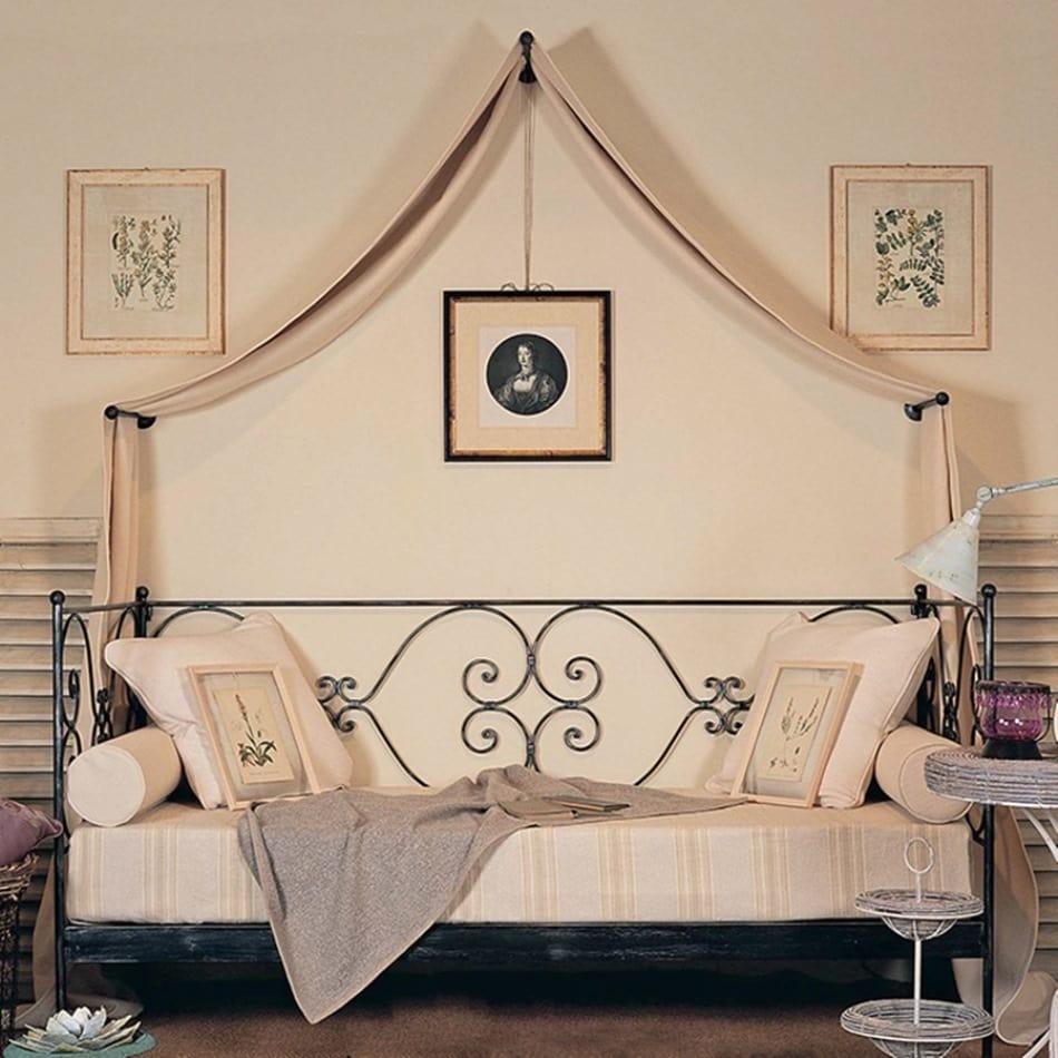 Кованые кровати 90х200