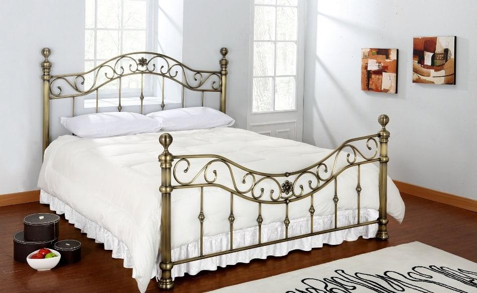 Кованые кровати с Тайваня