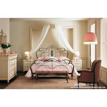 Кованая кровать Адальано