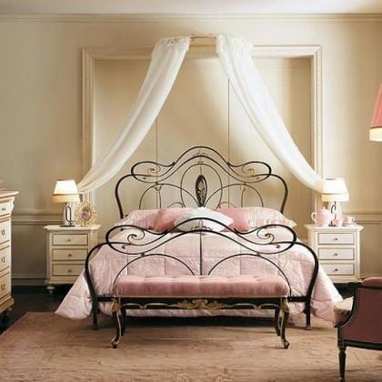 Кованая кровать Адальано 1