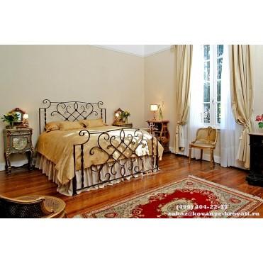 Кованая кровать Анамира