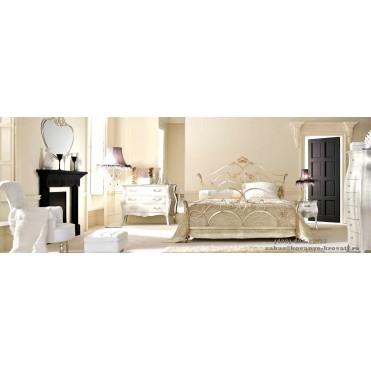 Кованая кровать Бафинн