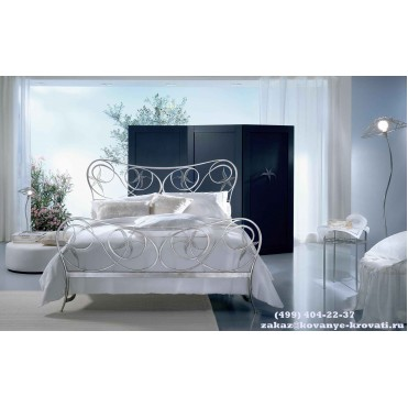 Кованая кровать Боргесса