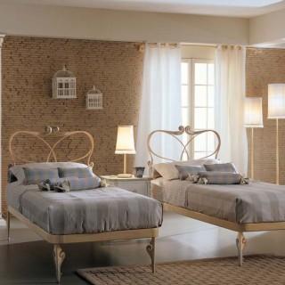 Кованая кровать Дорана