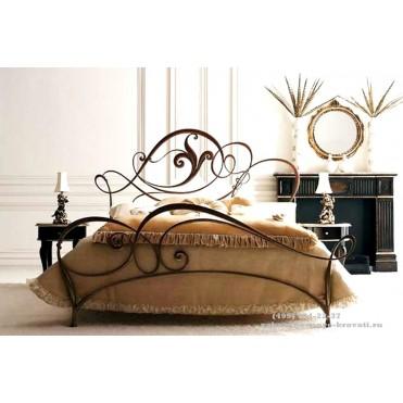 Кованая кровать Хильдеар