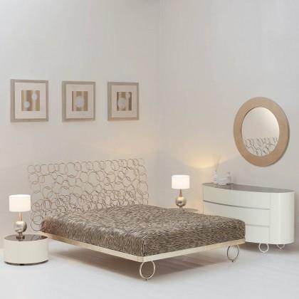 Кованая кровать Мирааль 1
