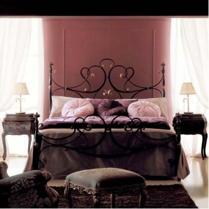 Кованая кровать Роэтель 1