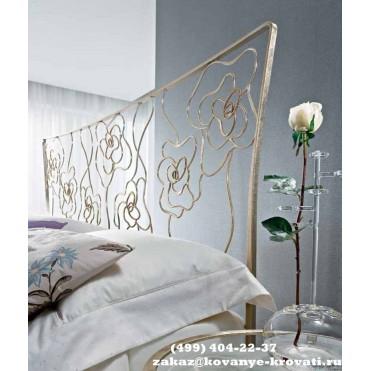Кованая кровать Тиэль