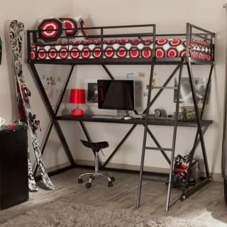 Кованая кровать чердак Роана