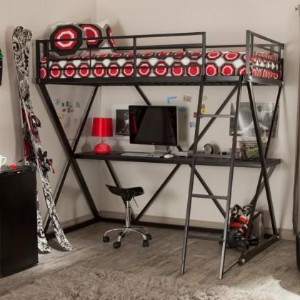Кованая кровать чердак Роана 1