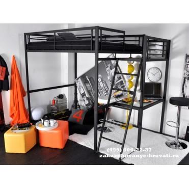 Кованая кровать чердак Тафа