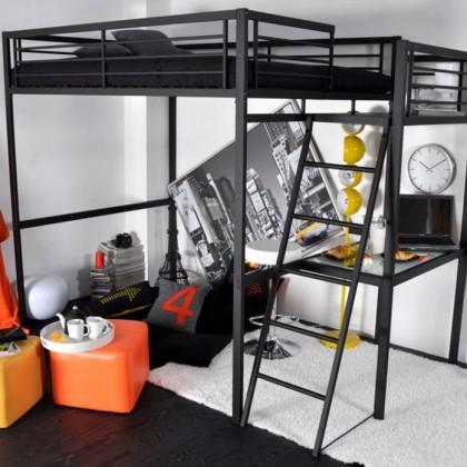 Кованая кровать чердак Тафа 1