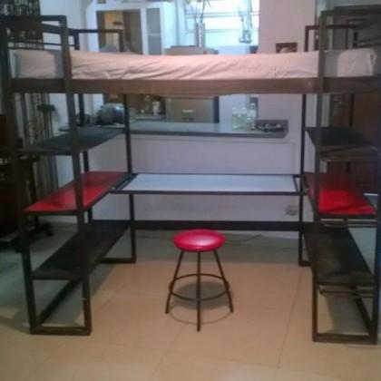 Кованая кровать Гринзо 1