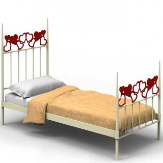 Кованая кровать Иноир