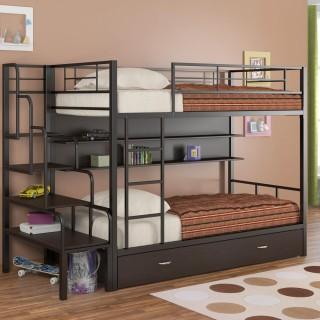 Кованая кровать Бронор