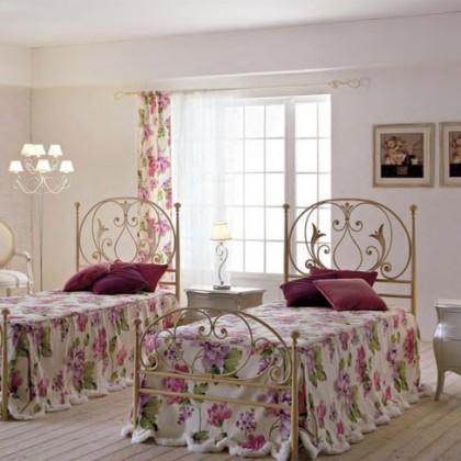 Кованая кровать Илэльм 1