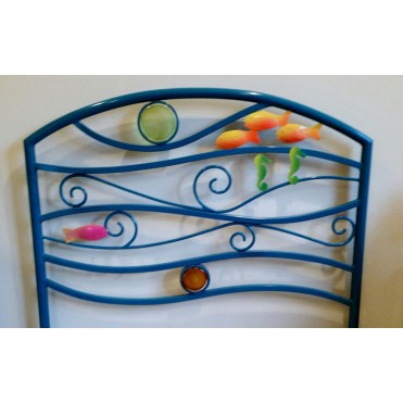 Кованая кровать Риксиги