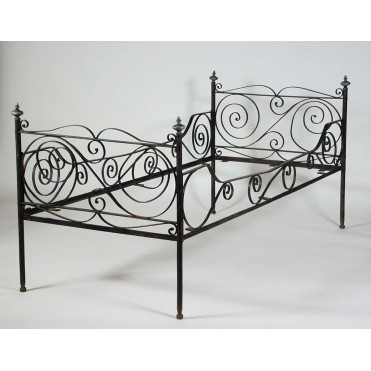 Кованая кровать Гердбрани