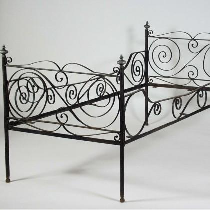 Кованая кровать Гердбрани 1