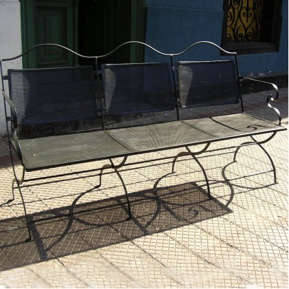 Кованый диван Адельвад 1