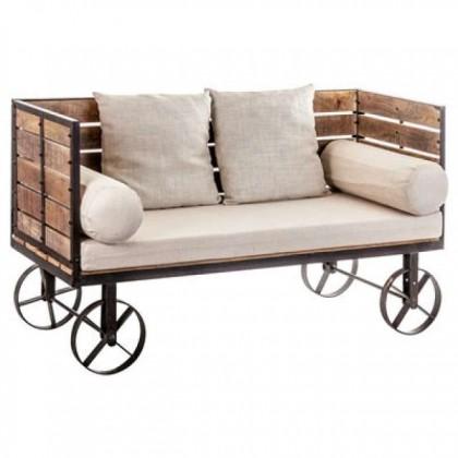 Кованый диван Эфти 1