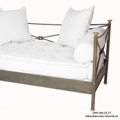 Кованый диван Фристальф 1