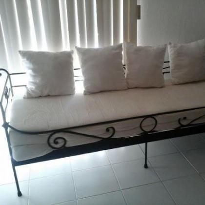 Кованый диван Лекмонд 1