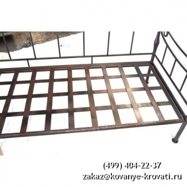 Кованый диван Оргот