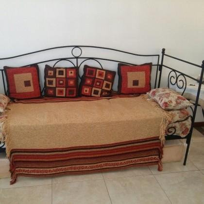 Кованый диван Рагрид 1