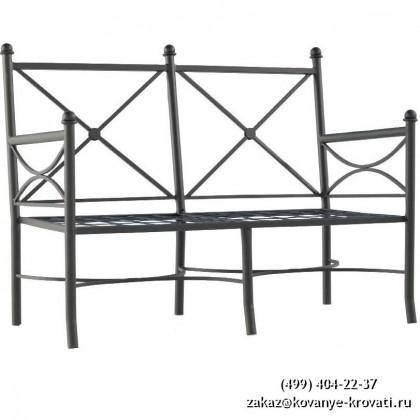 Кованый диван Рисджу 1