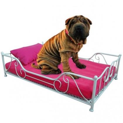 Кованая кровать Багор 1