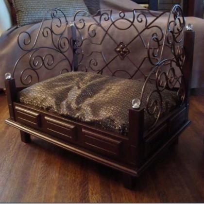 Кованая кровать Дано 1
