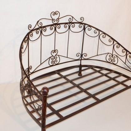 Кованая кровать Овлорд 1