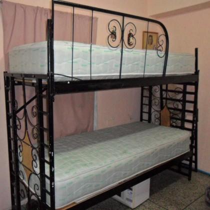 Кованая кровать Арнелу 1