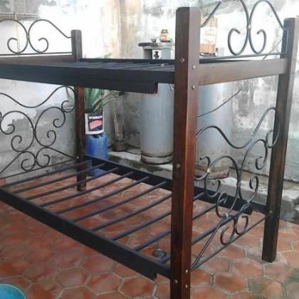 Кованая кровать Изаниса 1