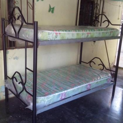 Кованая кровать Раадаль 1