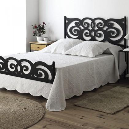 Кованая кровать Асеву 1