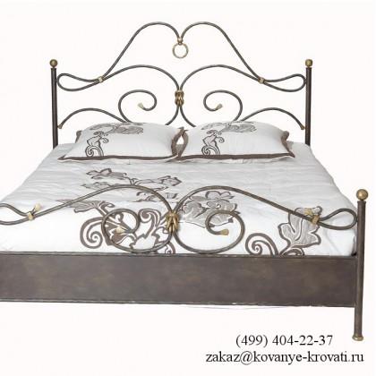 Кованая кровать Брандгун 1