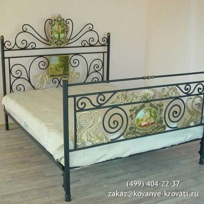 Кованая кровать Брендфред 1