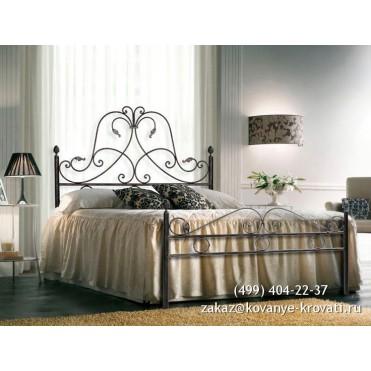 Кованая кровать Бринборг
