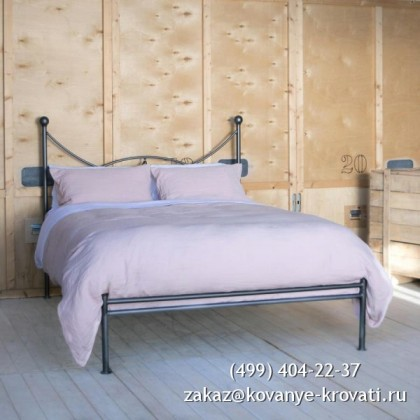 Кованая кровать Эритир 1
