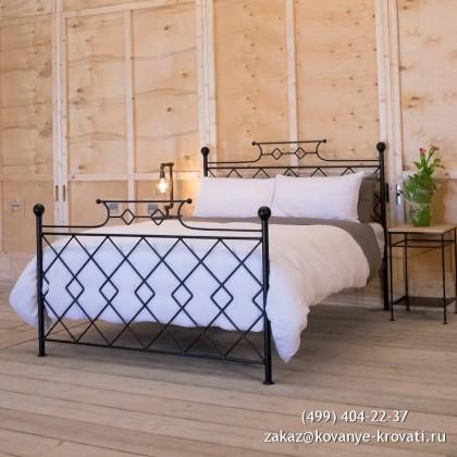 Кованая кровать Эриус 1