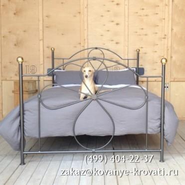 Кованая кровать Гастгорд